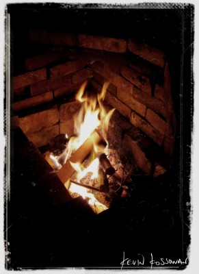 Dry Stacked Masonry Fire-Cooker