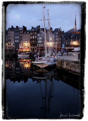Honfleur Port in the Morning
