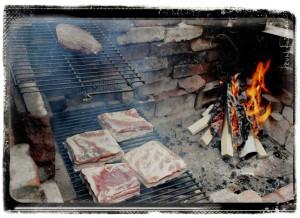 Smoking Heart & Bacon 4