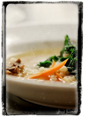 Burns Supper - Barley Broth