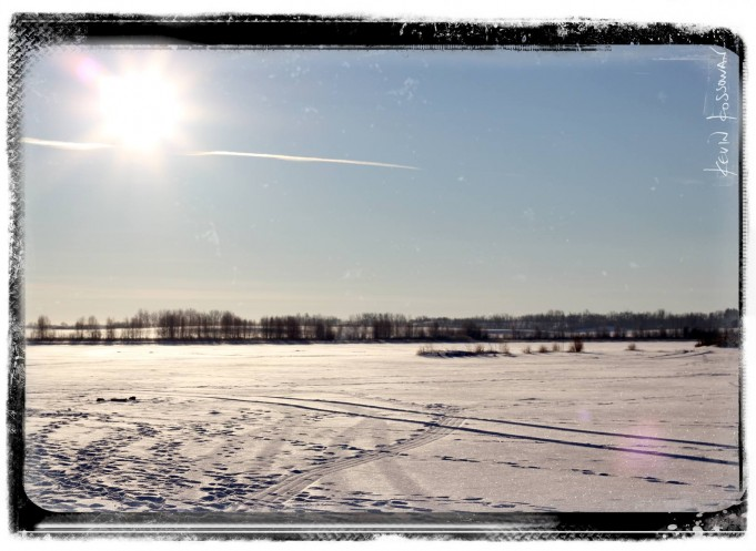 Ice Fishing - Hasse Lake