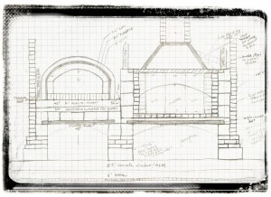 Masonry Kitchen Internal Drawings