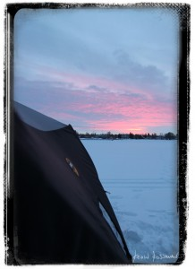 Lac Ste Anne - Ice Fishing